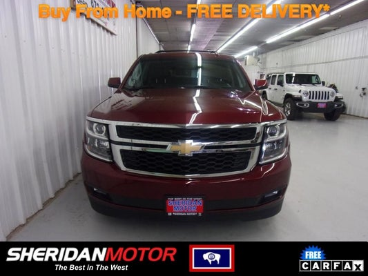 Sheridan Used Car Dealer 2019 Chevrolet Suburban Lt Sheridan Wy Gillette Casper Worland Wyoming 1gnskhkc0kr281098